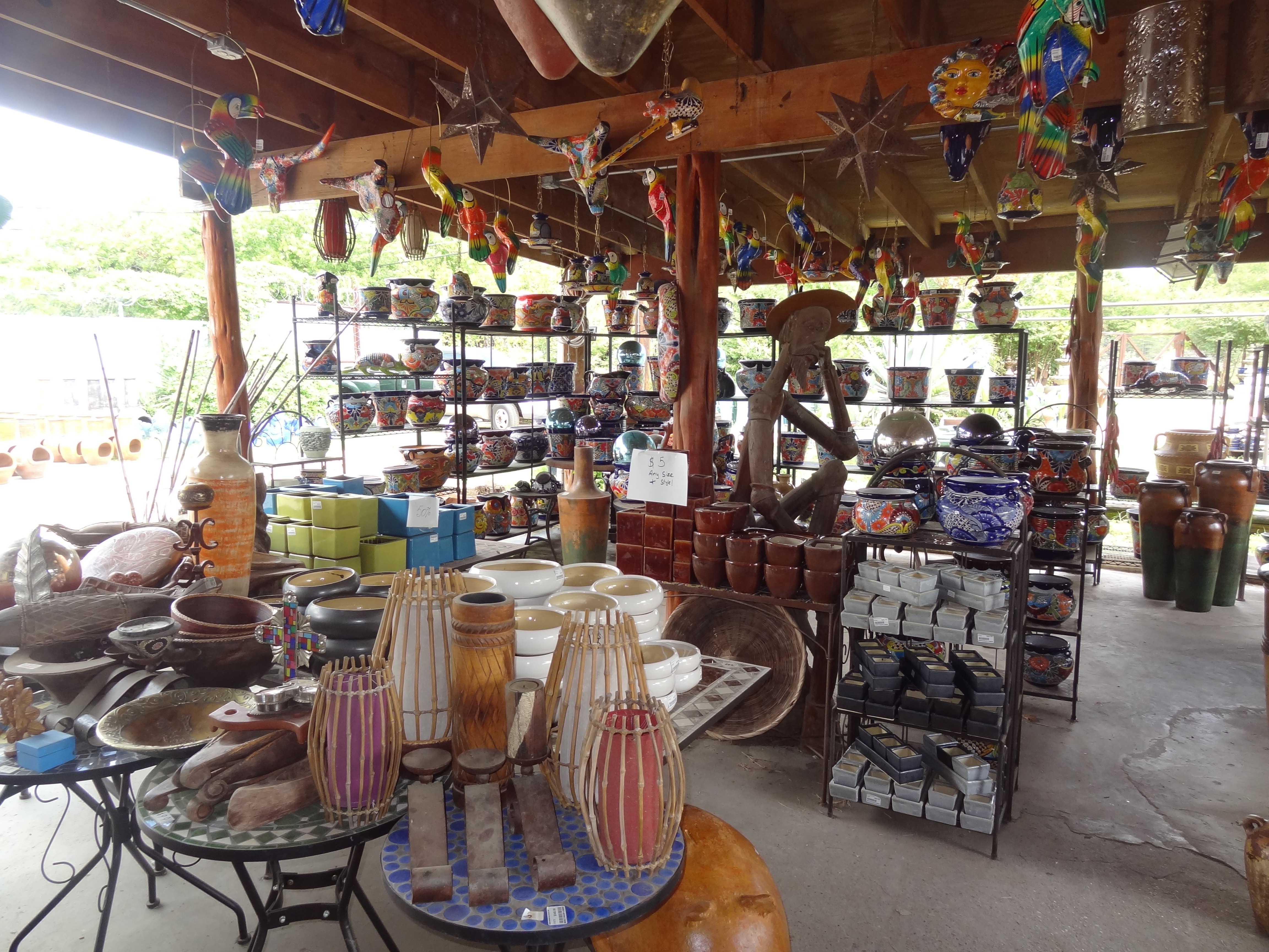Miguel's Gallery and Garden – Pottery, Statuary, Water
